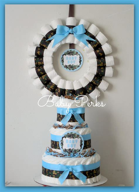 Blue Camouflage Decorations by Camouflage Cake Camo Cake Baby Boy Camo