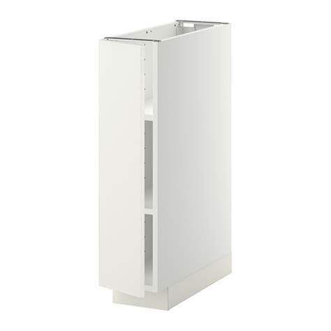 Etagere 40 Cm Largeur by Metod Base Cabinet With Shelves White H 228 Ggeby White 20x60