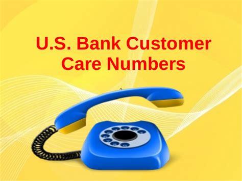 us bank banking customer service u s bank customer care numbers