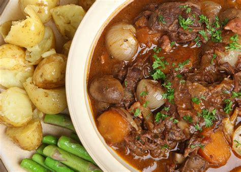Winter Root Vegetable Recipes - beef and winter vegetable stew slow cooked harvest to table