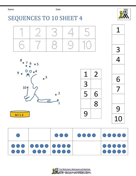pattern sequencing activities math sequence worksheets grade 4 thanksgiving number
