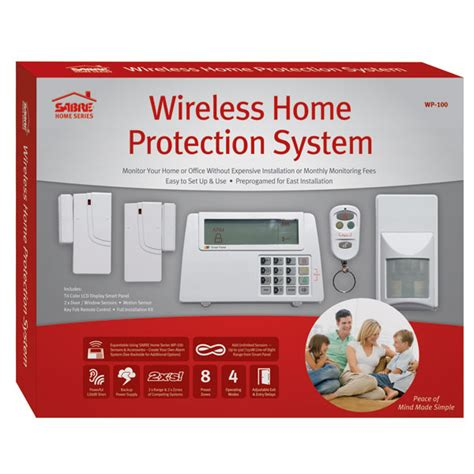 wireless home alarm system sabre