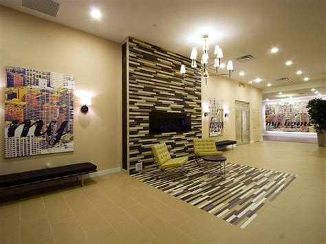 21  Tile Wall Living Room Designs, Decorating Ideas