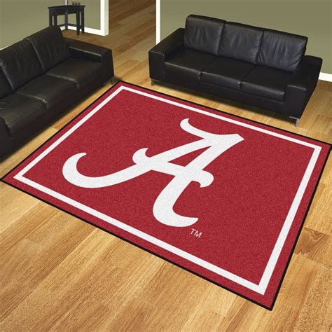 Alabama Rug by Alabama Crimson Tide 8 X 10 Area Rug