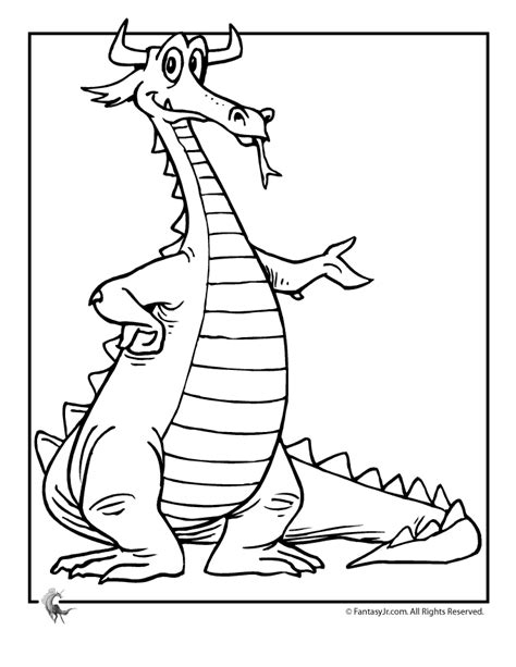 Dragons Coloring Pages Midevil Dragons Coloring Pages