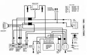 wiring diagram suzuki lt230s vault