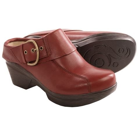 clogs for womens sanita open back clogs for in bordeaux