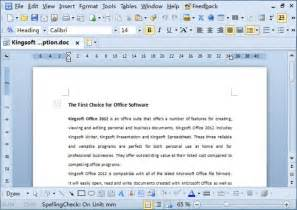 kingsoft office suite free kingsoft office