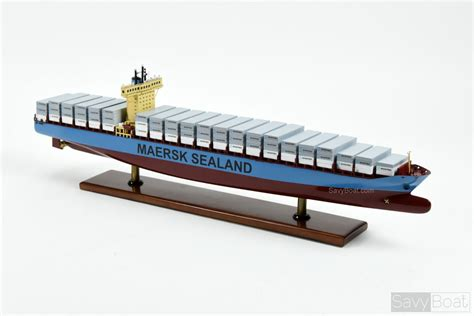 Mba Maersk International Shipping Education by Maersk Sealand Container Ship Handcrafted Wooden Ship Model