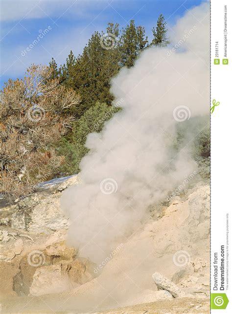 Stelan Pkumy steam plume stock images image 23161714