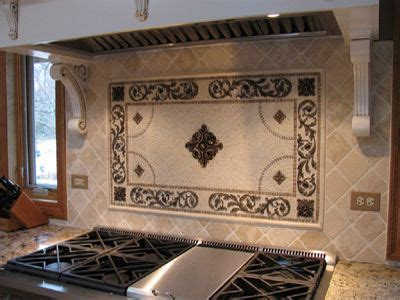 decorative tile inserts kitchen backsplash decorative insert backsplash by landmark metalcoat on