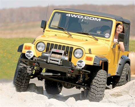 Jeep Horsepower Easy Jeep Wrangler Yj Tj Jk Upgrades With Performance