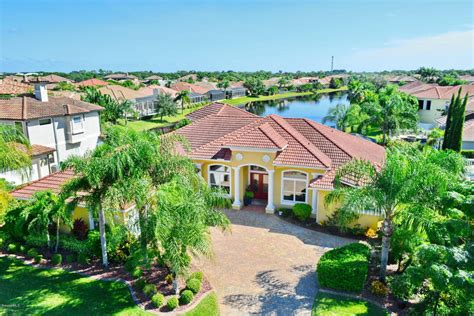 melbourne fl lakefront home for sale 3448 cappio drive