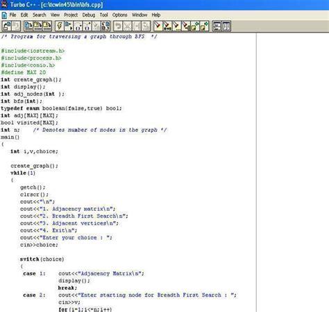 breadth search algorithm isengcom
