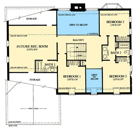 1st floor plan house colonial home with first floor master 32547wp 1st