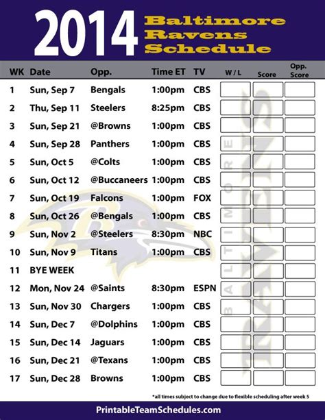 printable ravens schedule 2015 17 best images about family on pinterest ga ga lady and