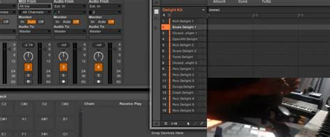 Ableton Live 9 Drum Rack by Maschine 2 0 In Ableton Live 9 Mapping Drum Rack To