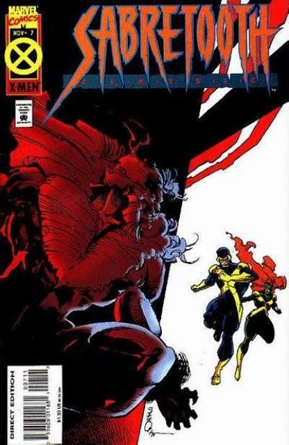 sabretooth classic vol 1 6 marvel database fandom powered by wikia sabretooth classic 6 falling issue