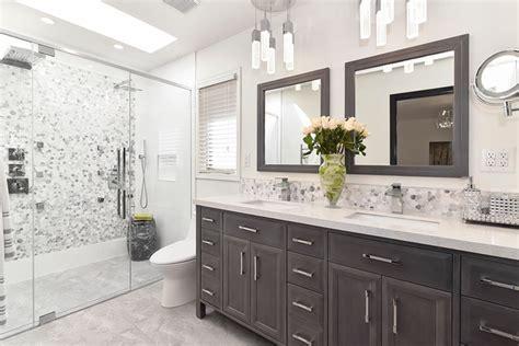 redesigned bathroom contemporary bathroom calgary