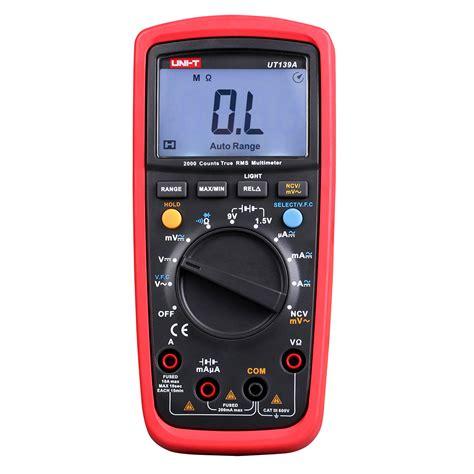Jual Multimeter Uni T ut139a multimeter ut139 uni t