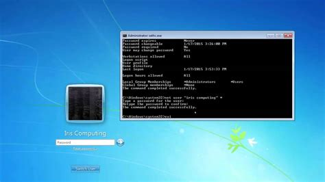 reset password windows xp from cmd how to remove windows accounts or change pc administrator