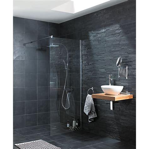 slate grey bathroom tiles wickes slate riven grey natural stone tile 300 x 300mm