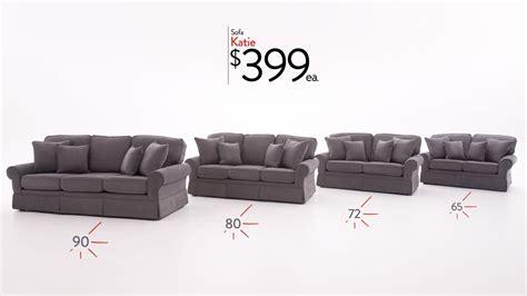 compare  katie sofa bobs discount furniture youtube