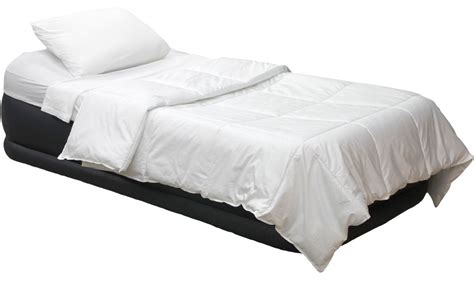 twin bed matress intex deluxe pillow rest twin air mattress raised twin
