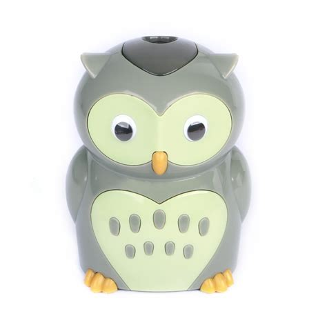 Pencil Owl Bagus High Quality 1 Eagle Electric Pencil Sharpener Owl Chickadee
