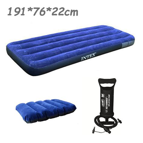 Intex Size Air Mattress by Intex 76 191 22cm Single Size Air Mattress 68950