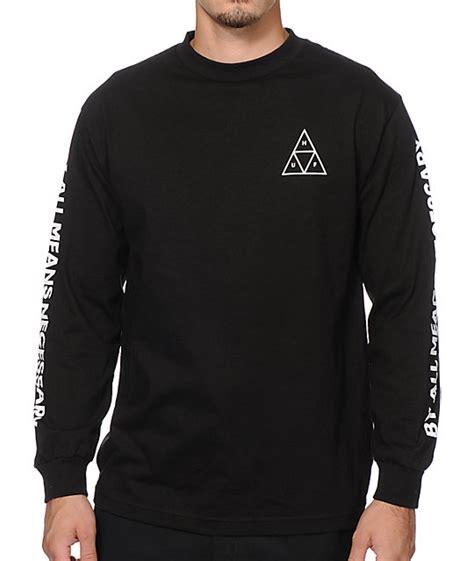 longsleeve huf 2 huf triangle sleeve t shirt at zumiez pdp