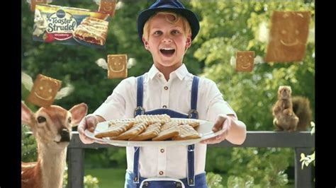 Toaster Strudel Ad pillsbury toaster strudel tv commercial door kick with