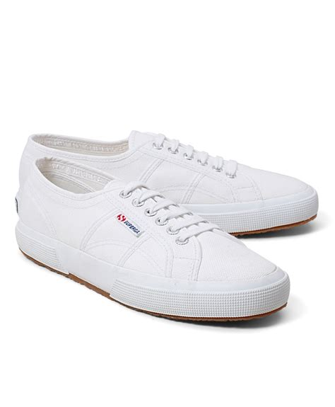 superga shoes for brothers superga 174 canvas sneakers in white for