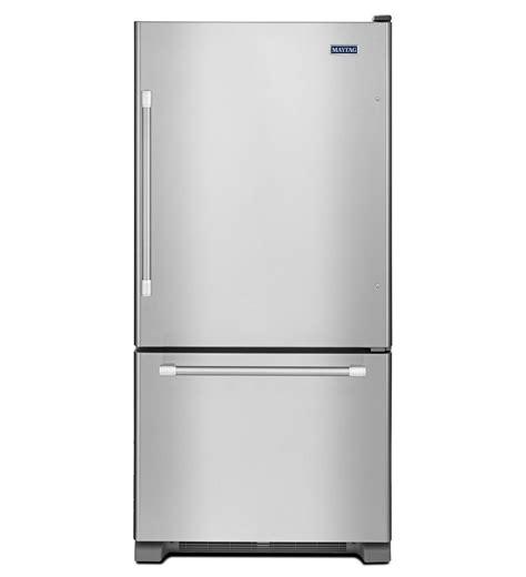 30 maytag bottom freezer refrigerator with freezer drawer
