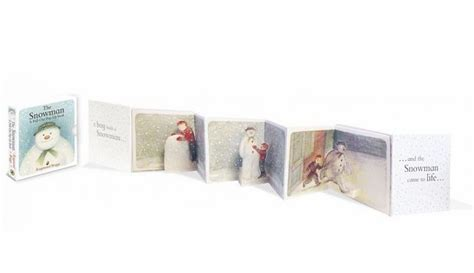 libro the snowman pull out pop up the snowman a pull out pop up book 雪人立體小書 立體書 小書蟲童書坊 繪本的家