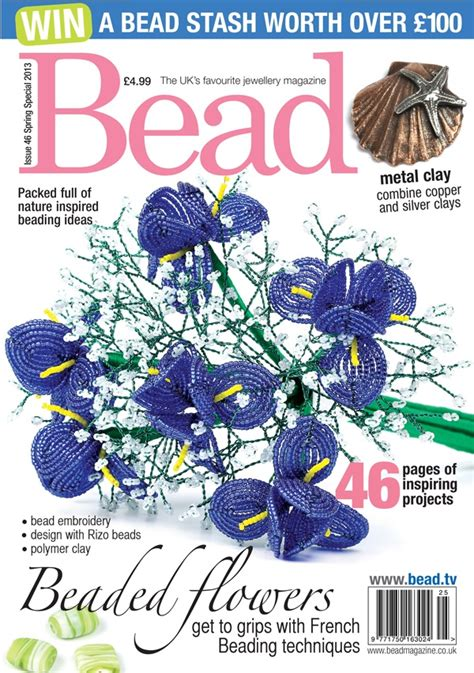 bead and jewellery magazine issue 46 of bead back to nature special bead