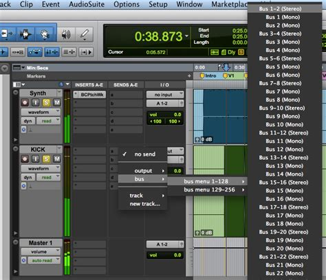 Bluecat Patchwork - using side chain with blue cat s patchwork in pro tools