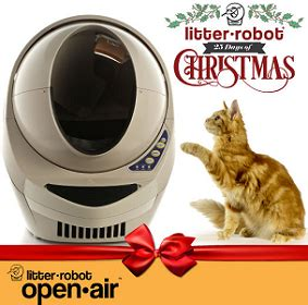 25 Days Of Christmas Sweepstakes - free the litter robot 25 days of christmas sweepstakes best freebie finder