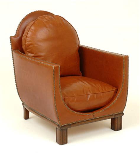 Deco Leather Armchair by An Deco Leather Armchair European And Australian
