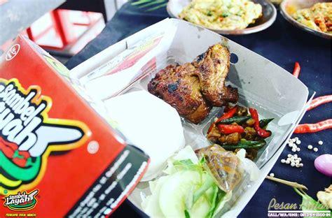 Paket Ayam paket ayam bakar sambel layah