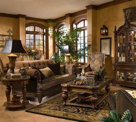 tuscan living rooms michael amini vizcaya living room collection tuscan