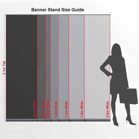 1m x 1m poster template display banners professional quality banner stand displays