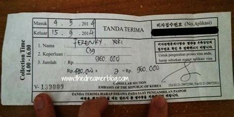 cara membuat visa korea utara cara tips dan pengalaman membuat visa korea selatan