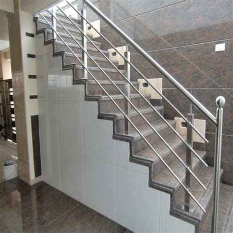 Stainless Steel Stairs Design Patel Fabrication
