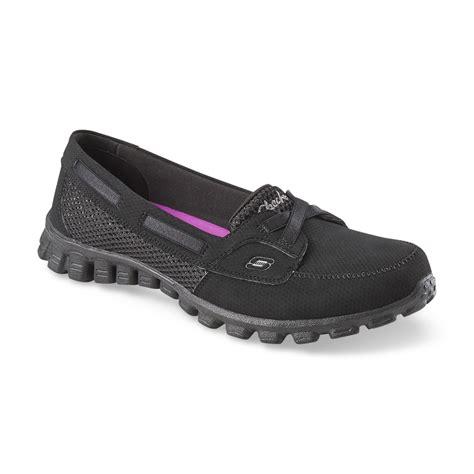 skechers s navigate black athletic shoe shoes