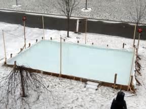 backyard rink liner backyard rink no liner outdoor furniture design and ideas