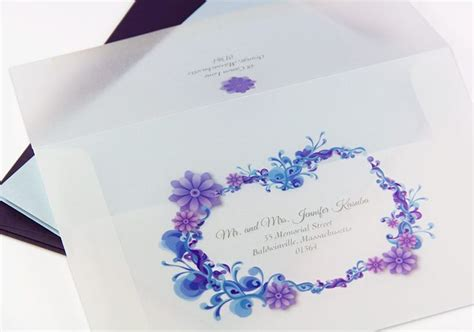 inkjet paper wedding invitations 17 best images about translucent vellum paper on