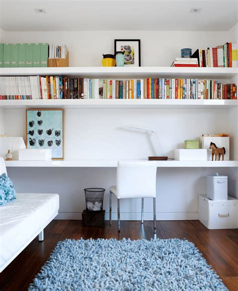office gaming room with wall to wall shelving and couch 28 creative open shelving ideas freshome com