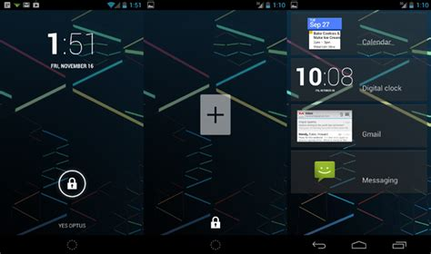 lock screen widgets for android android 4 2 lock screen widgets ausdroid