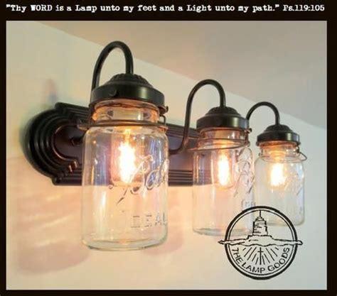 jar bathroom light fixture 25 best ideas about jar l on